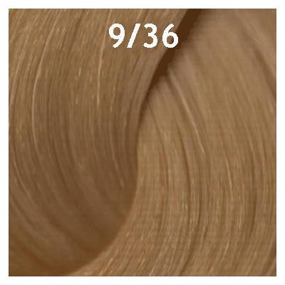 """9/36 """"блондин золотисто-фиолетовый"""" Estel Крем-краска для волос ESSEX Princess 60 мл."""