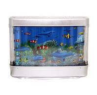 Ночник аквариум, светильник, фото 1