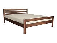 """Двуспальная кровать """"Элегант"""" из натурального дерева (ольха)"""