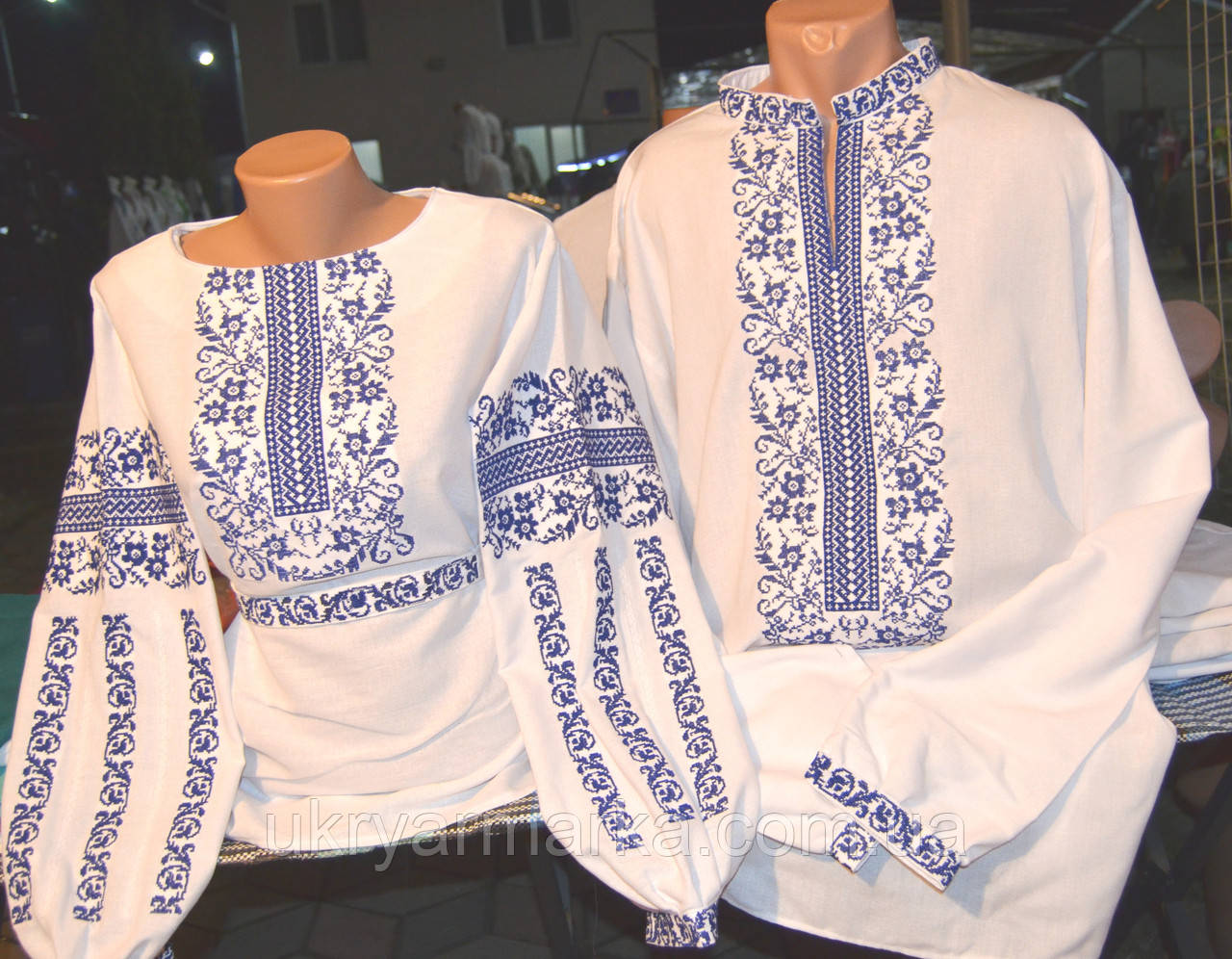 Жіноча вишивана блузка