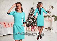 Красивое стильное платье с вырезом на спине. Арт-3872/33.