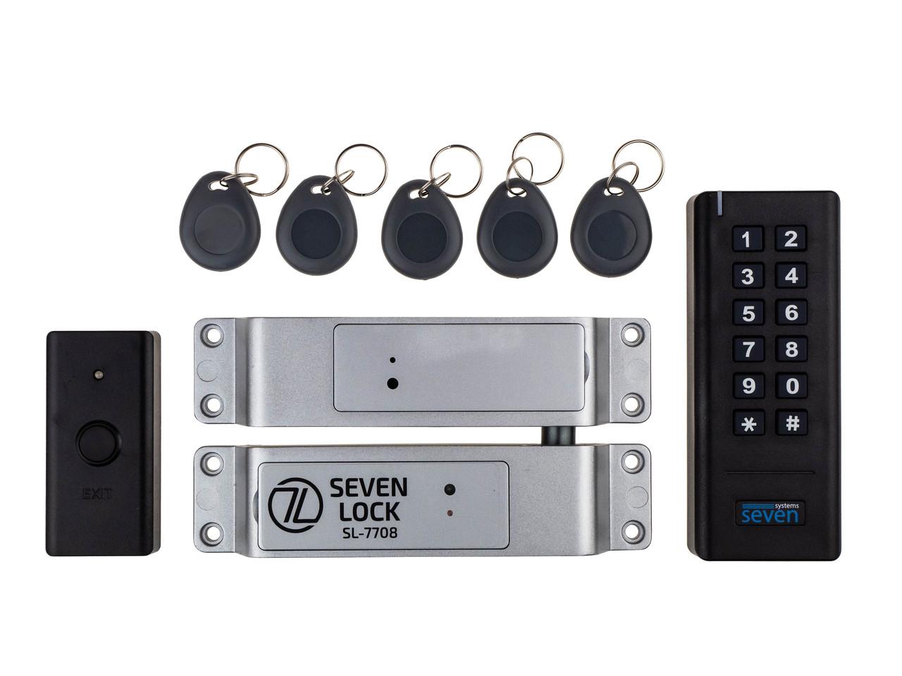 Беспроводной комплект контроля доступа SEVEN LOCK SL-7708