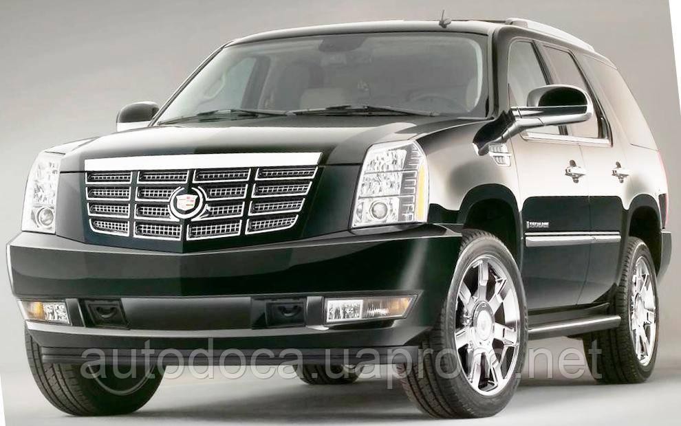 Защита картера двигателя, акпп, ркпп Cadillac Escalade 2007-