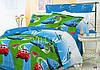Детский полуторный постельный комплект белья Тачки
