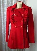Пальто женское красивое модное демисезонное  бренд Miss Selfridge р.46 4698