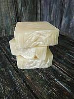 Натуральное мыло ручной работы без запаха и красителей. детское для младенцев и всей семьи