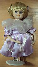 Порцелянова лялька декоративна висота 21 см