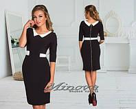 Красивое стильное платье ворот. Арт-3879/33.