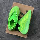 Женские кроссовки Adidas Yeezy Boost 700 v3 Neon Green, фото 7
