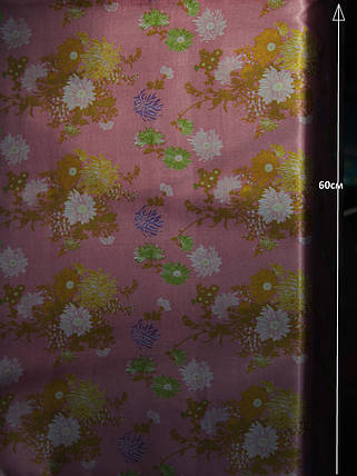 Сатин принт (цветы) , фото 2