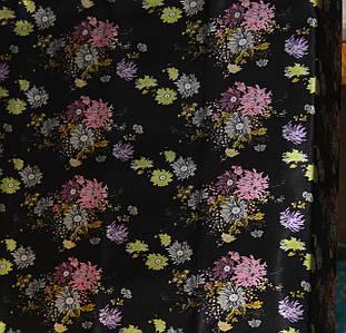 Сатин принт (цветы)