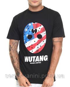 Футболка мужская с принтом Wu tang limited flag