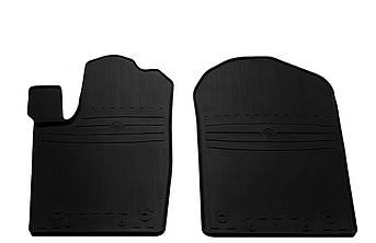 Коврики в салон резиновые передние для DODGE Durango III 2010- Stingray (2шт)