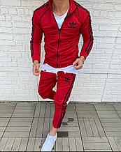 Мужской Спортивный Костюм в стиле Adidas Красный adidas red