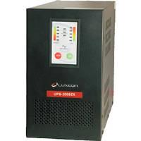 ИБП Luxeon UPS-2000ZX (1200Вт), для котла, чистая синусоида, внешняя АКБ