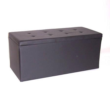 Банкетка (пуфик) BN-101(черн), фото 2