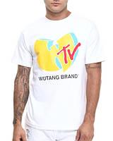 Футболка мужская с принтом Wu-tang - TV