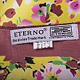 Женский стильный атласный платок размером 87*89 см ETERNO (ЭТЕРНО) ES0406-5-22, фото 3