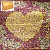 Женский стильный атласный платок размером 87*89 см ETERNO (ЭТЕРНО) ES0406-5-22