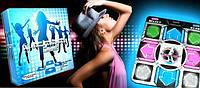 Танцевальный коврик X-treme Dance Pad Platinum для ТВ и ПК (RCA + USB), фото 1