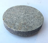Круг войлочный полировальный для болгарки Ø 125*22*М14 (серый)