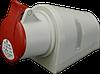 Розетка настенная IZN (IP 44), 16A, 400V, 4 полюса