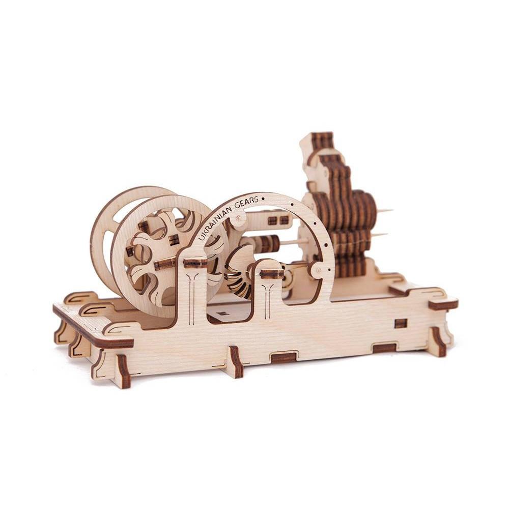 Механічний 3D пазл «Двигун» UGears (70009)