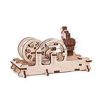 Механічний 3D пазл «Двигун» UGears (70009), фото 1