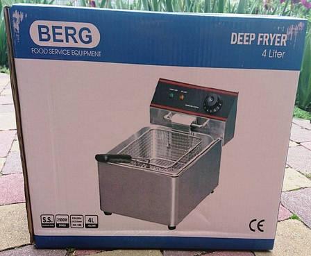 Фритюрница электрическая HEF-6L Berg (КНР), фото 2