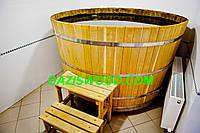 Купель круглая для бани и сауны 200х120см., фото 1