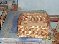 Лоток плетенный из лозы