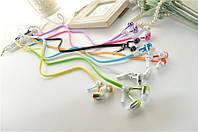 Наушники на молнии Zipper Earphones (с микрофоном), фото 1