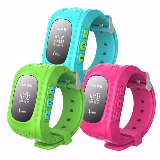 Детские часы с GPS трекером и телефоном.