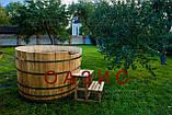 Купель круглая для бани и сауны 200х120см., фото 4
