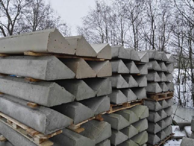 Сходинки поодинокі бетонні