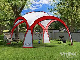 Садовая палатка,павильйон(Шатер) Swing DS-350 красная