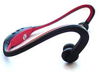 Цифровой MP3 плеер-наушники Sport + FM радио / подарок спортсмену