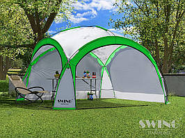 Садовая палатка,павильйон(Шатер) Swing DS-350 салатовая