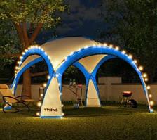 Садовая палатка,павильйон(Шатер) Swing DS-350 синяя без подстветки