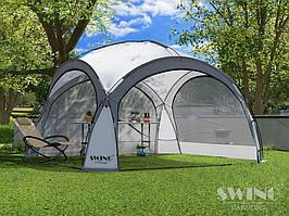 Садовая палатка,павильйон(Шатер) Swing DS-350 серая