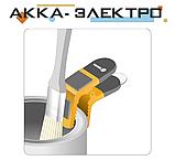 Держатель для кисти магнитный 90 мм пластиковая ручка пружинный зажим Vorel 09590, фото 2