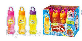 Мильні бульбашки 88986 (12уп за 12шт) 1 колір, 115мл, в боксі
