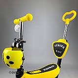 Самокаты 5 в 1 с корзиной Жёлтый, фото 4