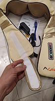 Електро масажер для шиї і плечей Geizer на липучках, фото 1