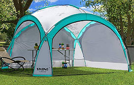 Садовая палатка,павильйон(Шатер) Swing DS-350 бирюзовая