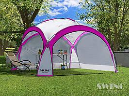 Садовая палатка,павильйон(Шатер) Swing DS-350 розовая