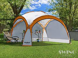 Садовая палатка,павильйон(Шатер) Swing DS-350 оранжевая
