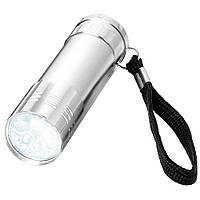 Фонарик светодиодный карманный металлические с петелькой для ношения на руке