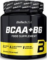 Амінокислоти BCAA BioTech BCAA + B6 (340 таб) (101321) Фірмовий товар!