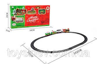 """Железная дорога """"MERRY CHRISTMAS"""" 238-3 (24шт) батар.,свет,звук,в коробке 54*29*6см"""
